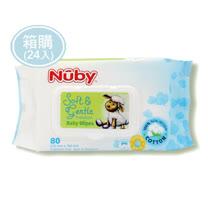 Nuby 全棉柔濕巾80抽*24包/箱