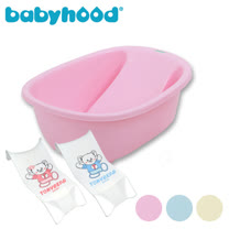 baby hood 初生小浴盆+湯尼熊 Tony Bear 嬰兒沐浴床