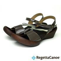 RegettaCanoe-女款-CJLW-5520優雅樂步休閒鞋-炭灰色