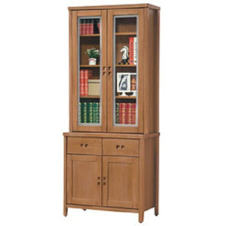 HAPPYHOME 香杉美檜3尺書櫃UZ6-247-4