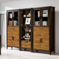 HAPPYHOME 振克雙色7.2尺書櫃UZ6-257-7