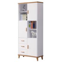 HAPPYHOME 寶格麗2.6尺書櫃UZ6-258-6