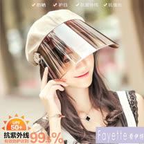 【Fayette 費伊特】多功能防曬帽-7色
