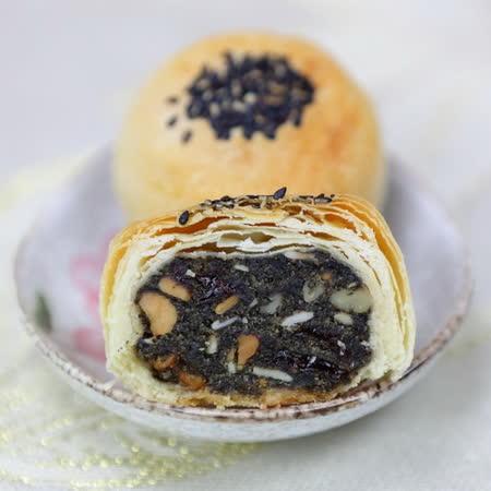(白鵝山腳普一食品) 黑麻酥(6入)