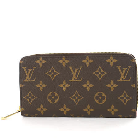 Louis Vuitton LV M41894 ZIPPY 新版經典花紋拉鍊長夾.粉紅色_預購