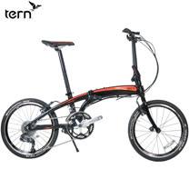 Tern Verge P20 鋁合金20吋20速折疊單車-黑底橘標