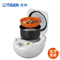 【 TIGER 虎牌】日本製_10人份微電腦炊飯電子鍋(JBV-S18R)買就送專用料理食譜