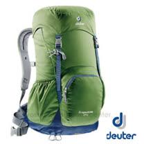 【德國 Deuter】ZUGSPITZE 網架直立式透氣背包24L.登山健行背包.自助旅行背包.旅行背包/Aircomfort 透氣網架背負系統/3430116 綠灰