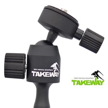 台灣品牌Takeway雲台含快拆板T-B01