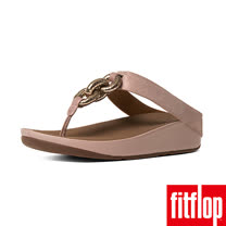 FitFlop™-(女款) SUPERCHAIN™ LEATHER TOE-POST-裸膚色