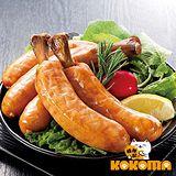 【極鮮配】米其林5入帶骨德式香腸(375g±10%/包*4包)