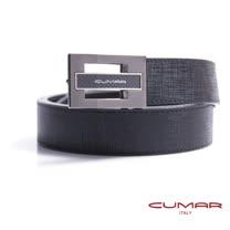 CUMAR 義大利牛皮造型紳士皮帶 0596-D73-01