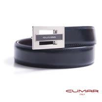 CUMAR 義大利牛皮鏤空造型紳士皮帶 0596-D74-05
