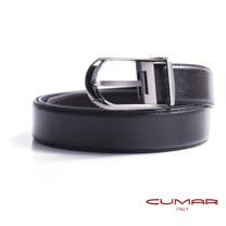 CUMAR 義大利牛皮穿針式造型皮帶 0596-D99-01