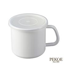 野田琺瑯-White Series系列杯型保存罐(1L)
