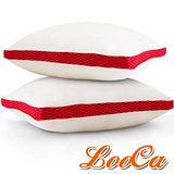 (團購4入)LooCa 時尚版-透氣超釋壓獨立筒枕4入(共3色)
