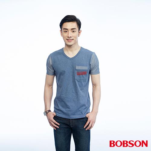 BOBSON 男款異素材 上衣 26023~53