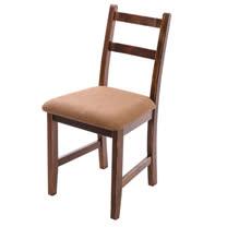 [自然行]- Reykjavik北歐木作椅(焦糖色)深咖啡椅墊