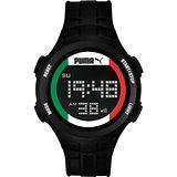 【PUMA】復刻奧運義大利時尚運動腕錶(PU911301008)