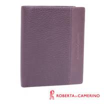 ROBERTA DI CAMERINO 荔枝紋直立短夾 040R-A9302