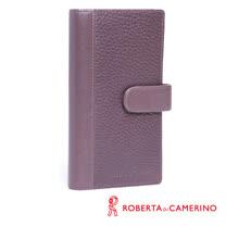 ROBERTA DI CAMERINO 荔枝紋多卡夾 040R-A9502