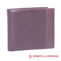 ROBERTA DI CAMERINO 荔枝紋橫夾-三層左右翻 040R-A9602