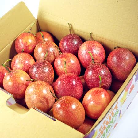 【鮮果日誌】埔里滿天星百香果(2公斤)禮盒裝
