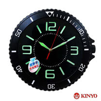 【KINYO】12吋手錶型創意掛鐘(CL-150)