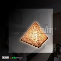 手工製造<BR>開運金字塔能量桌燈/小夜燈