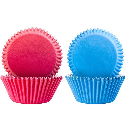 ~IBILI~Sweet蛋糕紙模100入 桃藍7.5cm