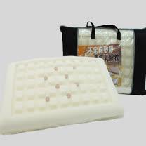 SHINEE 台灣製《不定向 遠紅外線透氣科技矽膠乳膠雙合一枕》-1入(枕頭)(記憶枕)(乳膠枕)