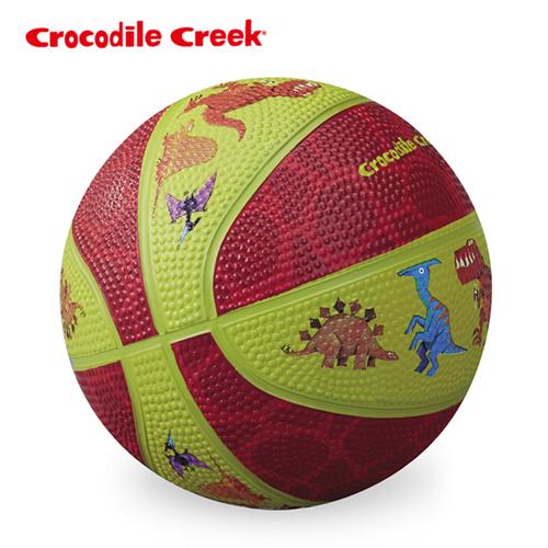 ~美國Crocodile Creek~5.5吋兒童 遊戲籃球~恐龍世界