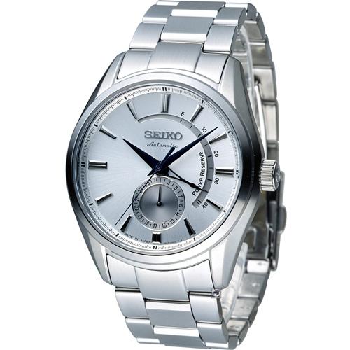 精工 SEIKO Presage 中央動力儲存顯示機械腕錶 4R57-00A0S SSA3