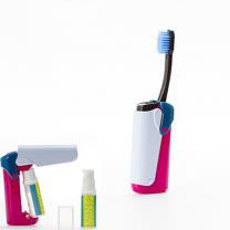 【義大利BANALE】MINI TOOTHBRUSH 隨身旅用牙刷組 - IRIS