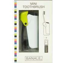 【義大利BANALE】MINI TOOTHBRUSH 隨身旅用牙刷組 - 透明&Green