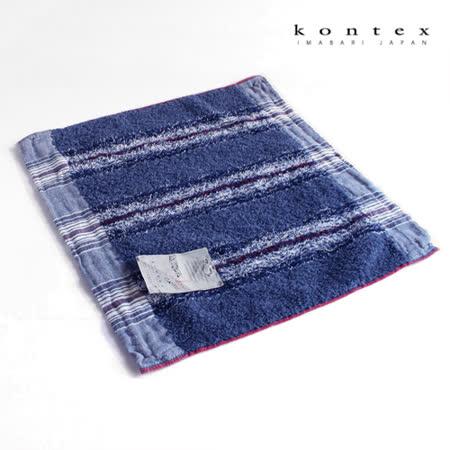 【クロワッサン科羅沙】日本今治~Kontex40細紗海洋紋方巾 35*36cm
