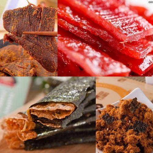 喜福田 風味肉乾綜合 組 55g 盒、70g 盒、90g 盒,四入組