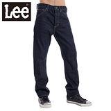 Lee 101牛仔褲開扣高腰中直筒-男款(深藍) LL120296736
