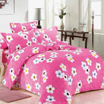 【情定巴黎】花花世界 保暖法蘭絨毯包邊超值加厚升級款(150cm x200cm)