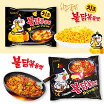 【團購】韓國原裝進口 三養 辣雞肉風味炒麵/起司火辣雞肉炒麵/香濃起司 單包入-20入組