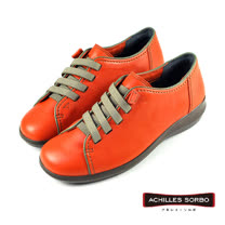 【Achilles SORBO】簡約復古機能鞋/女鞋 橘色(SRL0910-RC)