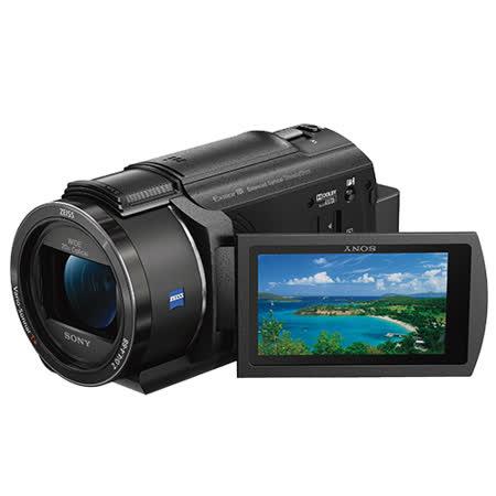 SONY FDR-AX40 4K高畫質攝影機(公司貨).-送原廠鋰電池(FV70)+專用充電器(FV)+蔡司拭鏡紙+保護貼+讀卡機+SONY經典銅牌對杯