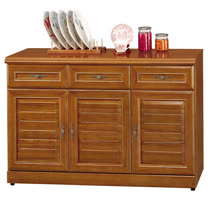 HAPPYHOME 施勝發正樟木4尺碗櫥櫃UZ6-327-3