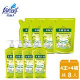 【茶樹莊園】茶樹超濃縮洗碗精(4正+4補)