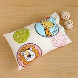 鴻宇HongYew《動物園》台灣製 美國棉 防蹣抗菌兒童纖維枕