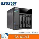 ASUSTOR 華芸 AS-6104T 4Bay網路儲存伺服器