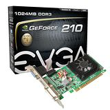 EVGA艾維克 GeForce 210 DDR3 顯示卡