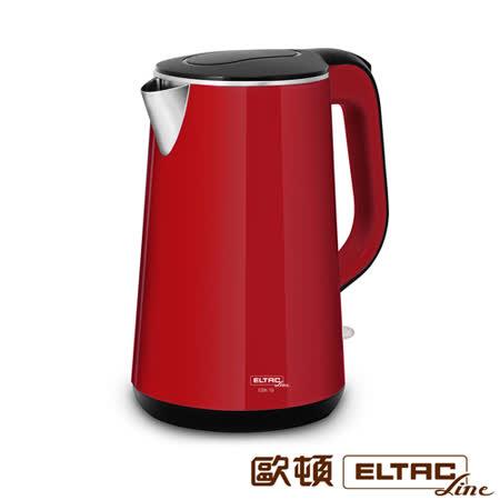 ELTAC欧顿 1.7L双层防烫不锈钢快煮壶 EBK-19