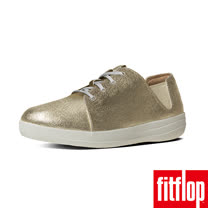 FitFlop™-(女款)F-SPORTY™ LACEUP SNEAKER CANVAS-金色