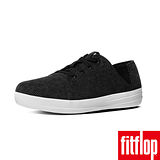 FitFlop™-(女款)F-SPORTY™ LACEUP SNEAKER CORDUROY-黑色